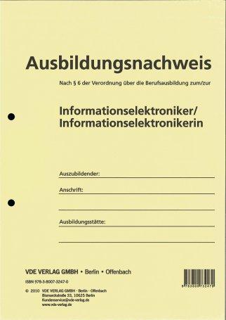 Ausbildungsnachweis Bücher Vde Verlag