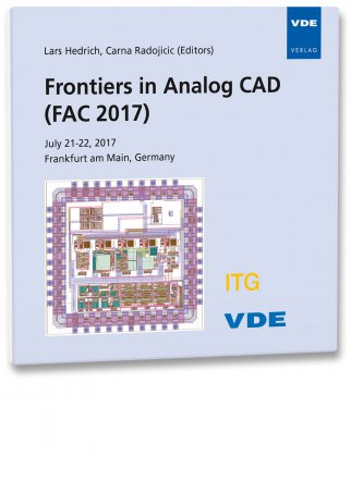 Frontiers in Analog CAD (FAC 2017)
