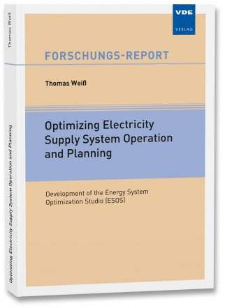 Optimizing Electricity Supply System Operation and Planning