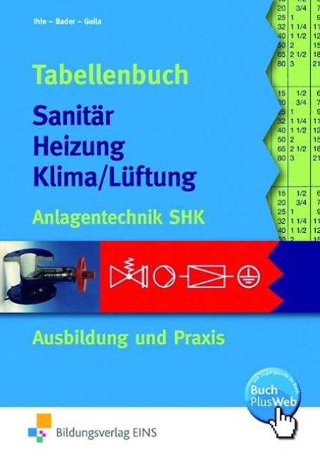 Hervorragend Tabellenbuch Sanitär Heizung Klima/Lüftung - BÜCHER - VDE VERLAG GZ51