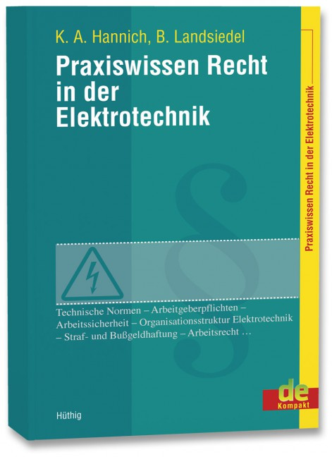 Praxiswissen Recht In Der Elektrotechnik Bücher Vde Verlag