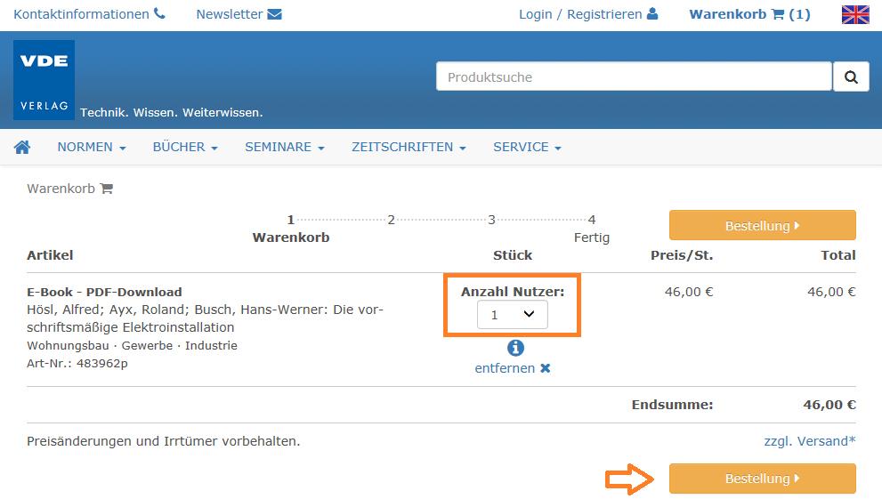 E-Book Lizenzen - BÜCHER - VDE VERLAG