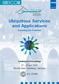 EURESCOM Summit 2005 - Ubiquitous Services and Applications