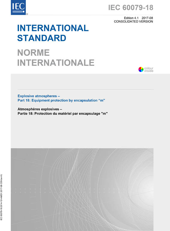 Cover IEC 60079-18:2014+AMD1:2017 CSV (Consolidated Version)