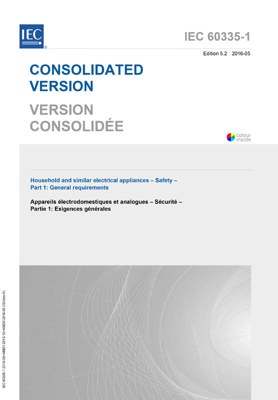 Cover IEC 60335-1:2010+AMD1:2013+AMD2:2016 CSV (Consolidated Version)