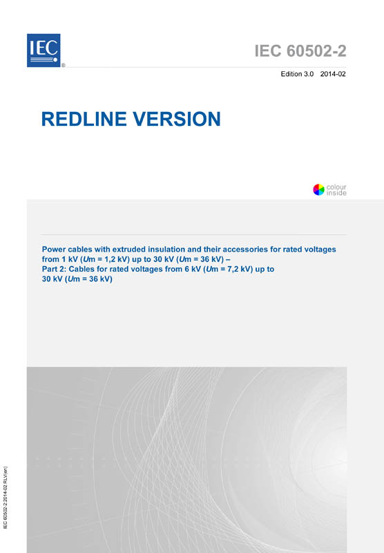 IEC60502-2 cable