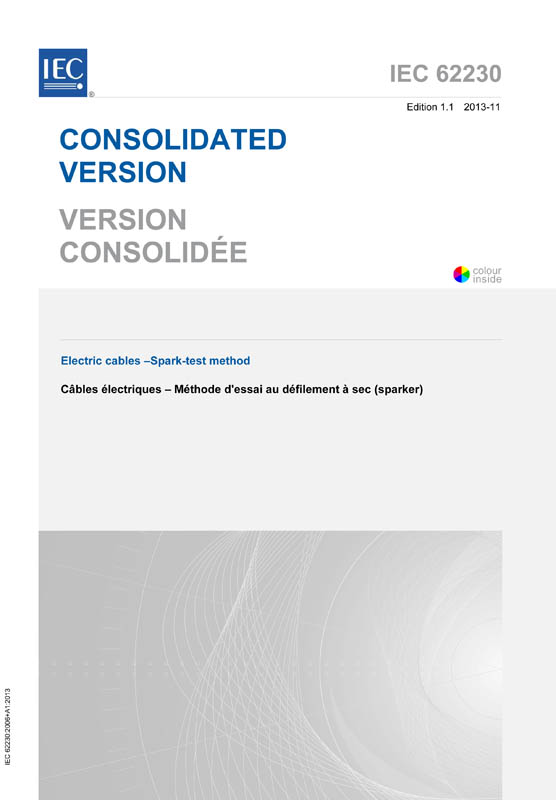 Cover IEC 62230:2006+AMD1:2013 CSV (Consolidated Version)