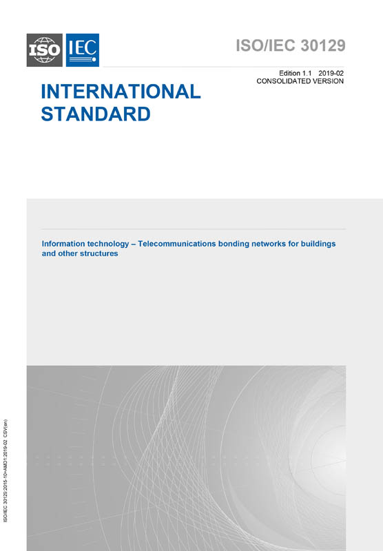 Cover ISO/IEC 30129:2015+AMD1:2019 CSV (Consolidated Version)