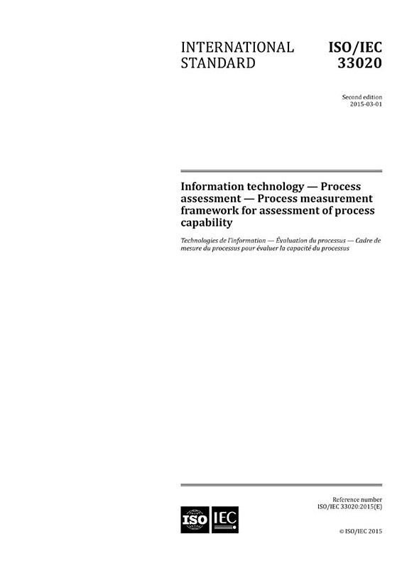 ISO/IEC 33020:2015 - IEC-Normen - VDE VERLAG