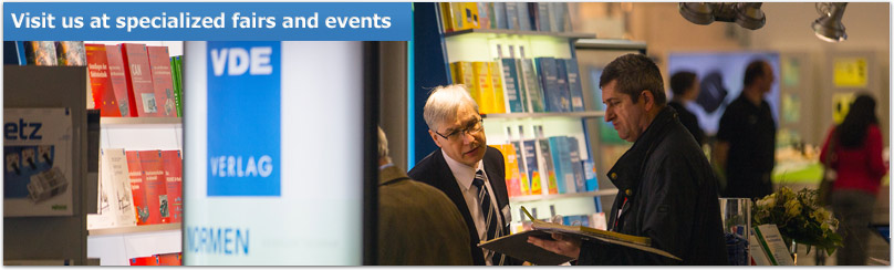 VDE VERLAG Fairs and Events